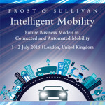 Frost & Sullivan – Intelligent Mobility, July 1 & 2